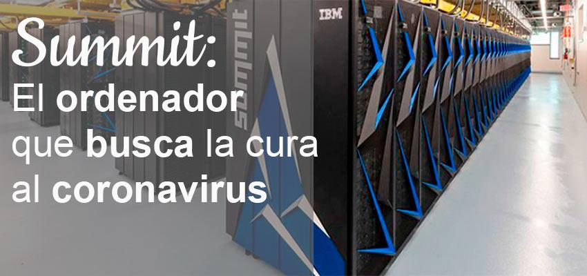 summit el ordenador que busca la cura al coronavirus